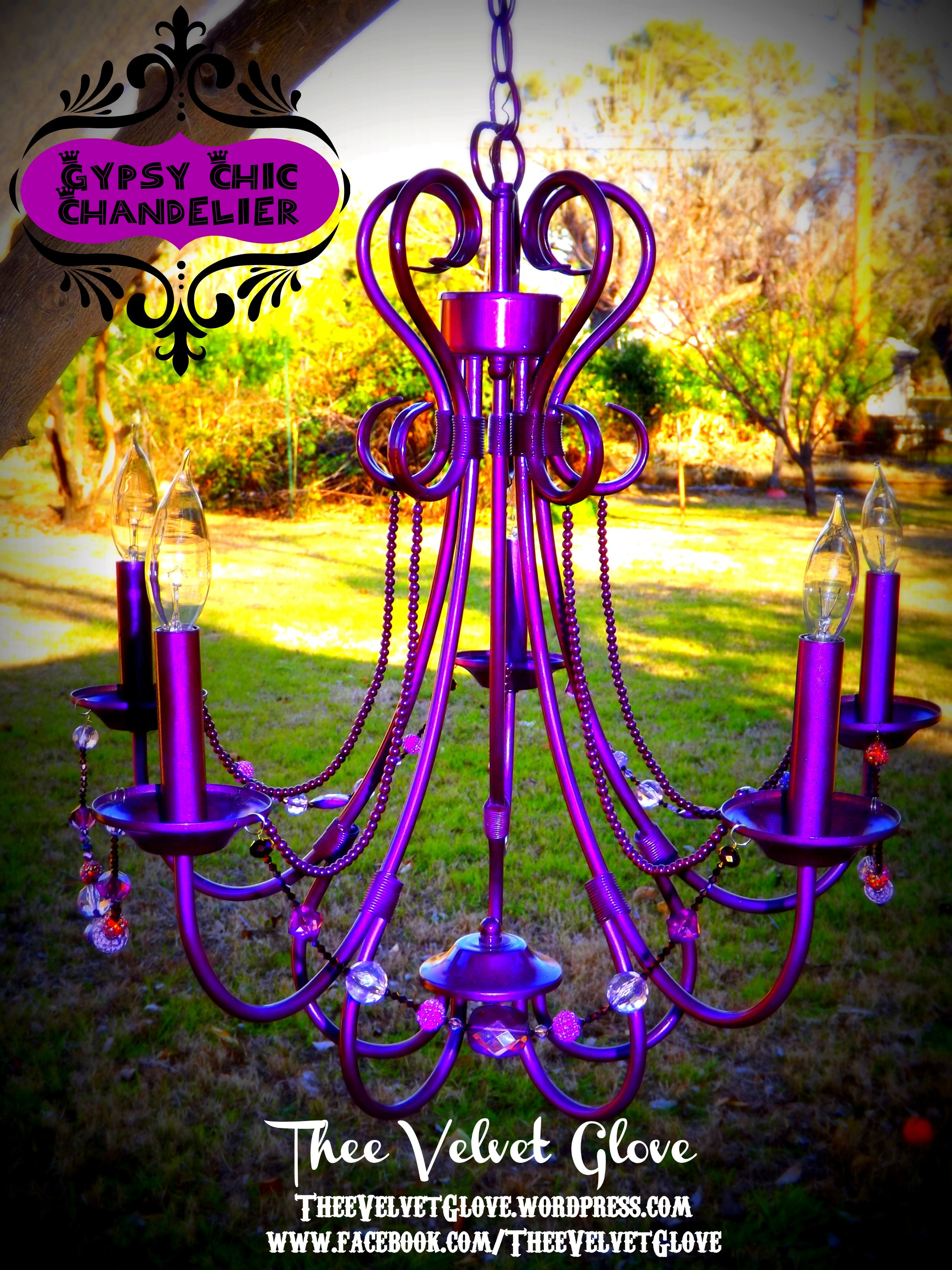 vintage fabulous table purple pink childrens fuchsia argos mini homebase nush chandeliers light hot little for gypsy chandelier baby on nursery black crystal by girl large