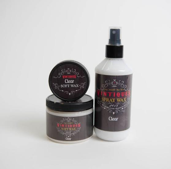 clear wax vintiques