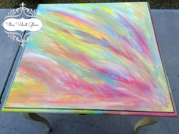 Thee Velvet Glove - Table - Aurora Staining Gel for Heirloom Traditions