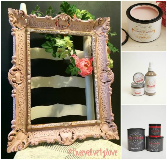 Thee Velvet Glove Frame Makeover