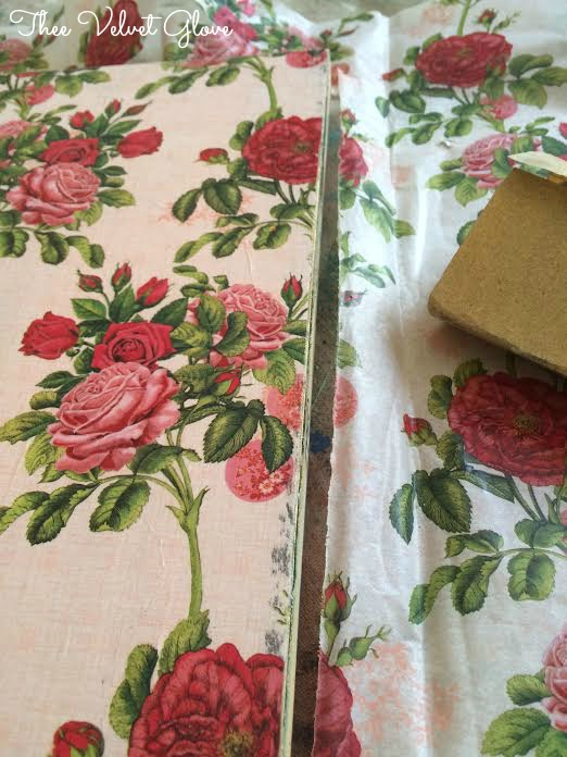 Dirty Floral Decoupage by Thee Velvet Glove