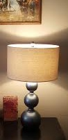 Thee Velvet Glove Antiqued Silver Lamps